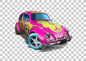 火热的车轮,老爷车,紧凑型轿车,洋红色,技术,硬件,紫色,车辆,粉红