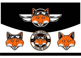 狼头标识设计