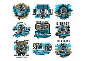 摩托车赛事俱乐部形象LOGO图标设计