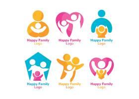 儿童健康成长形象LOGO图标设计