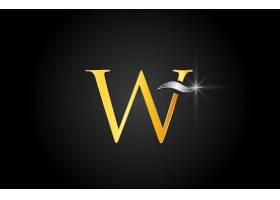 字母W形象LOGO图标设计