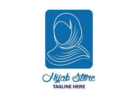 中东女性形象LOGO图标设计