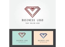 钻石形象LOGO图标设计