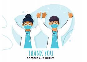 医疗卫生护士医生插画主题矢量元素矢量素材设计