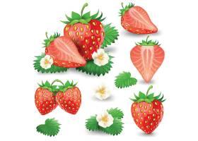 高清草莓插画素材广告海报设计素材元素