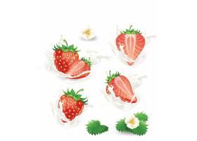 红色的草莓