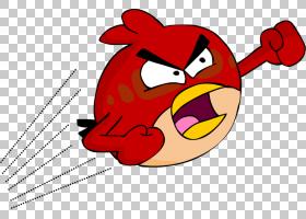 鸟线艺术,鸟,鸡肉,线路,红色,愤怒的电子游戏书呆子,喙,面部表情,