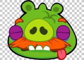 鼻部,微笑,叶,绿色,愤怒的小鸟,愤怒的小鸟卡通形象,游戏,猪爷爷,图片