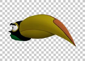 不会飞的鸟,机翼,鱼,巨嘴鸟,黄色,愤怒的小鸟,愤怒的小鸟卡通形象图片