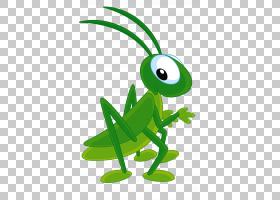 绿草背景,草,线路,青蛙,绿色,叶子,爬行动物,动画,幽默,绘图,蜜蜂