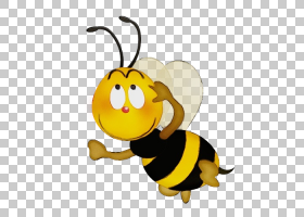 图片艺术背景,动物形象,黄蜂,大黄蜂,无脊椎动物,微笑,传粉者,动图片