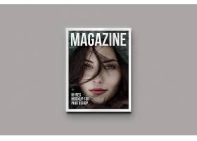 时尚现代杂志画册写实物品智能样机素材