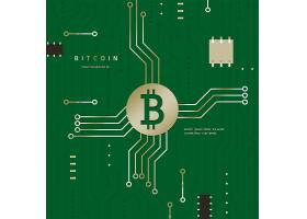 比特币主题海报设计