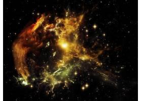 美丽星云宇宙太阳系银河系高清图片