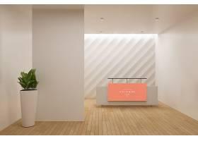 企业形象墙室内样机