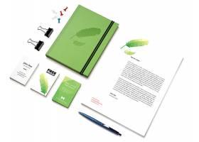绿色环保整套办公VI样机