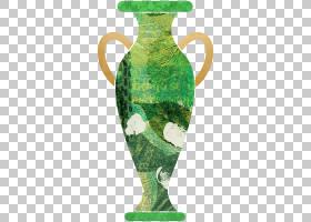 古董花瓶主题创意插画免扣元素