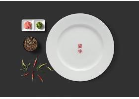 中式餐饮品牌VI样机