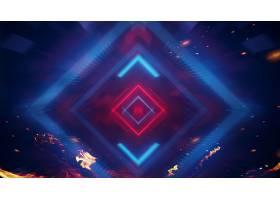 光影几何图形元素科技主题海报展板Banner背景