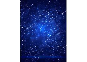 蓝色光影光斑科技主题海报展板Banner背景