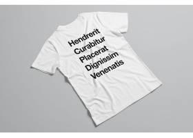时尚潮流男女上衣服饰T恤智能样机