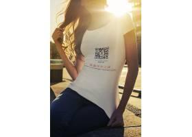 男女潮流服饰T恤智能样机