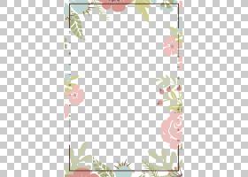 植物花卉边框免抠PNG元素
