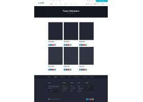 大气简约吉信众筹项目慈善PSD网页设计模板