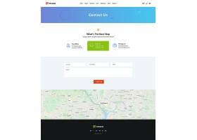 简约大气皮科佐创意机构网页首页设计模板