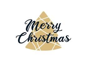 创意圣诞节版画设计捆绑矢量圣诞节元素设计素材