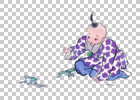 水墨古代人物 中国风古典古人插画PNG (23)