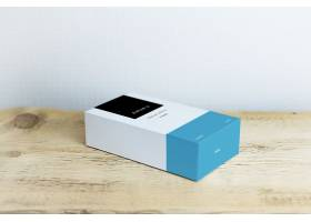 原创3D礼盒包装送礼礼盒智能样机