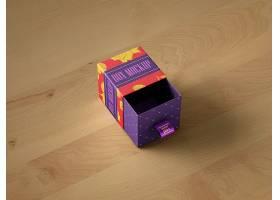 原创模型送礼礼盒包装样机