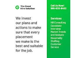 创意职业介绍所广告模板职业海报设计素材