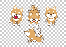 猫狗卡通,线路,胡须,图案,设计,尾巴,面积,字体,红狐,狗,动画,卡