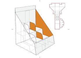 盒型刀模展开图