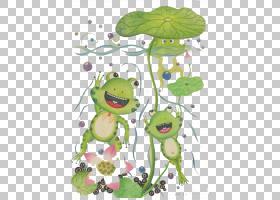 绿草背景,绿色,树,草,下雨,搜索引擎,动画片,树蛙,青蛙,图片