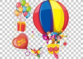 气球卡通,圆,党的供应,CDR,徽标,动画片,气球,