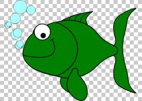 绿草背景,动画片,草,绿色,青蛙,叶子,神仙鱼,钓鱼,鱼,淡水天使鱼,图片