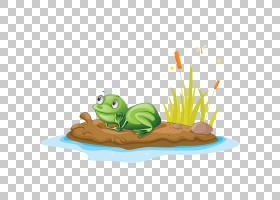 绿草背景,草,绿色,动画片,青蛙,密歇根J蛙,图片