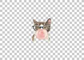 小猫卡通,鼻子,绘图,爪子,水彩画,咀嚼,喵喵,宠物,绘画,小猫,猫,