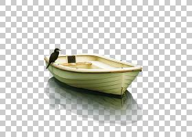 小船卡通,餐具,极简主义,架构,海报,船,船艇,动画片,