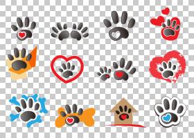 狗和猫,花,心,企业形象,,宠物,熊,猫,狗,徽标,