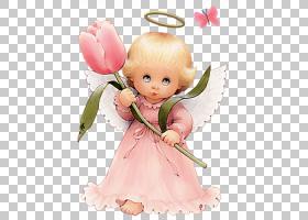 粉花卡通,蹒跚学步的孩子,微笑,小雕像,花瓣,玩具娃娃,桃子,花,粉图片