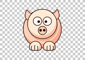 中国猪年,嘴,穗科,微笑,脸颊,粉红色,鼻子,鼻部,头,动画片,广告,
