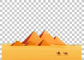 旗帜背景,景观,线路,桔黄色的,ERG,热度,天空,三角形,埃及,绘图,