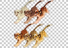 狮子卡通,动物形象,尾巴,野生动物,动物,狮子,猫,猎豹,
