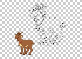水彩树,树,骆驼般的哺乳动物,野生动物,线路,面积,鹿,点,牲畜,正