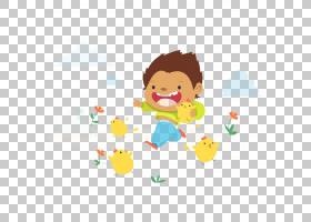子背景,幸福,线路,黄色,材料,玩,海报,免费赠送,可爱,动画片,儿童