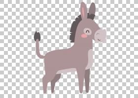 驴子卡通,山羊,驯鹿,马,骆驼般的哺乳动物,尾巴,牲畜,鹿,漫画,绘